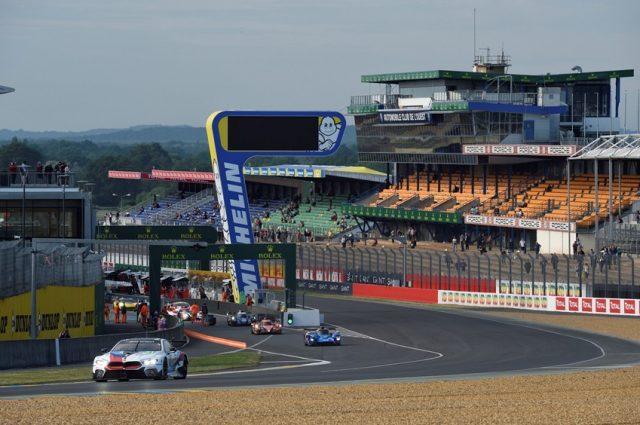 BMW M8 GTE beim offiziellen Testtag Le Mans © BMW Motorsport