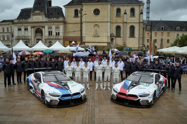 BMW Motorsport 24H Le Mans BMW Team MTEK, BMW M8 GTE © BMW Motorsport