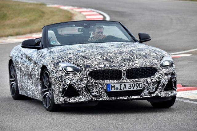 BMW Z4 Erlkönig © BMW AG
