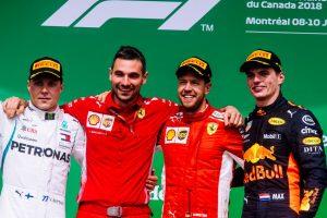 Formel 1 GP Kanada 2018 Podium GP Canada 2018 © Scuderia Ferrari
