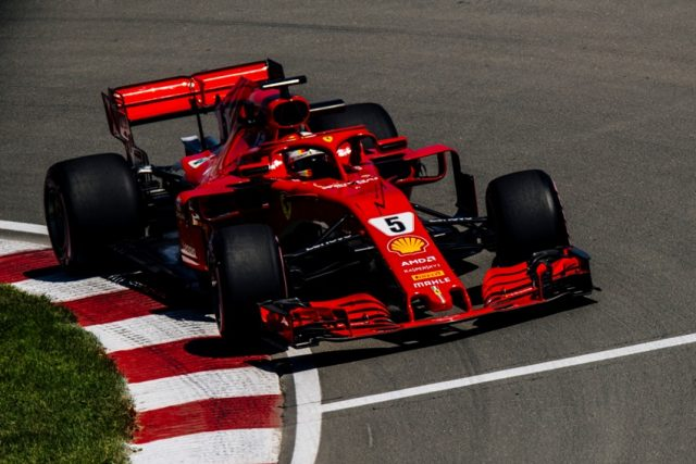 Formel 1 GP Kanada 2018 Sebastian Vettel © Ferrai F1