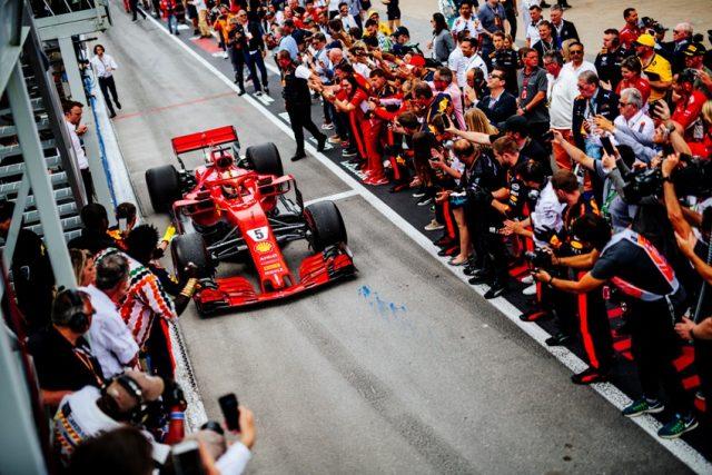 Formel 1 GP Kanada 2018 Sebastian Vettel Sieger 2018 © Scuderia Ferrari