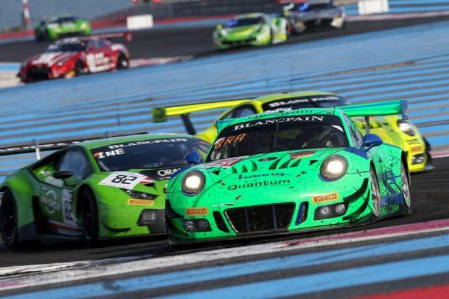 Herberth Motorsport, Porsche 911 GT3 R (991), Jürgen Häring (D), Edward-Lewis Brauner (D), Wolfgang Triller (D), Paul Ricard 2018 © Porsche Motorsport