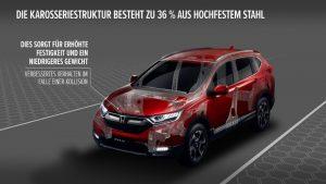Der sicherste Honda CR-V aller Zeiten © Honda