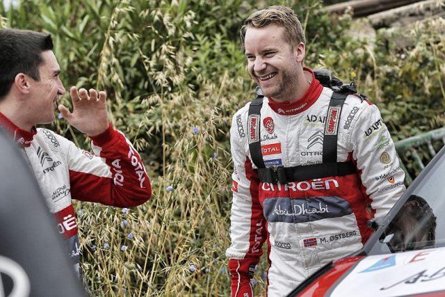 Rallye WM Citroen verpflichtet Mads Ostberg für den Rest der Rallye WM 2018 © Citroen