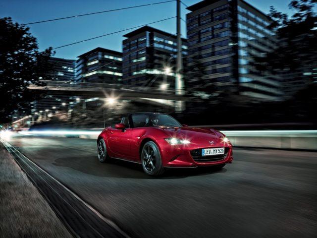 Mazda MX 5 2019 mit mehr Leistung © Mazda
