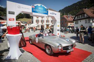 Mercedes-Benz 190 SL Rennsportausführung (W 121), Silvretta Classic Rallye Montafon 2015 © Daimler AG