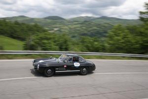 "Mercedes-Benz 300 SL ""Gullwing"" (W 198), 1000 Miglia 2018, Etappe von Cervia nach Rom am 17. Mai 2018 © Daimler AG"