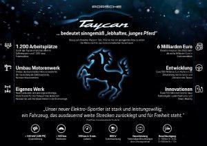 Mission E Elektro Sportwagen Porsche heißt Taycan © Porsche