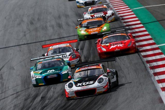Porsche 911 GT3 R, KÜS Team75 Bernhard, Timo Bernhard (D), Kevin Estre (F), Red Bull Ring 2018 © Porsche Motorsport