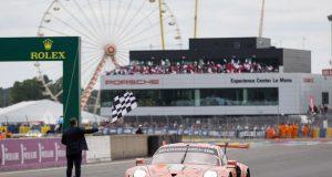 24 Stunden von Le Mans 2018 Porsche 911 RSR, Porsche GT Team (92), Michael Christensen (DK), Kevin Estre (F) Laurens Vanthoor (B), Le Mans 2018 © Porsche Motorsport