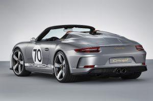 Porsche 911 Speedster Concept Heckansicht © Porsche