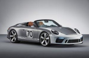 Porsche 911 Speedster Concept Seitenansicht © Porsche