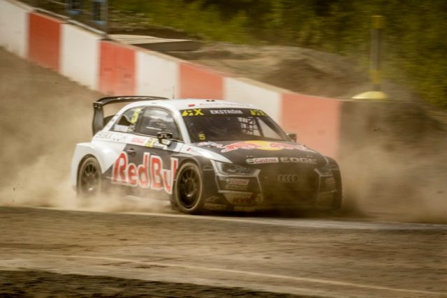 FIA World Rallycross Championship 2018, Hell Rallycross WM 2018 in Hell Audi S1 EKS RX quattro #5 (EKS), Mattias Ekström © Audi Communications Motorsport