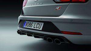 Seat Leon Cupra Carbon Edition Heck © Seat