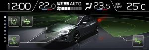 Subaru Eyesight am Beispiel Subaru Impreza Modelljahr 2018 © Subaru
