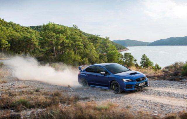 Subaru WRX STI Modelljahr 2018 &opy; Subaru
