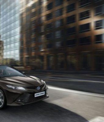 Toyota Camry Achte Modellgeneration startet Anfang 2019 © Toyota