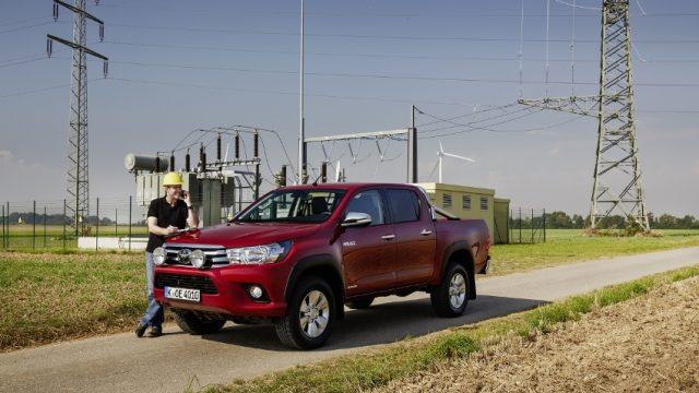 Toyota Hilux bleibt bestes Nutzfahrzeug © Toyota