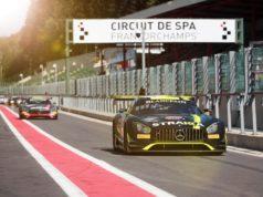 Testtag Spa: STRAKKA Racing #42 © Daimler AG