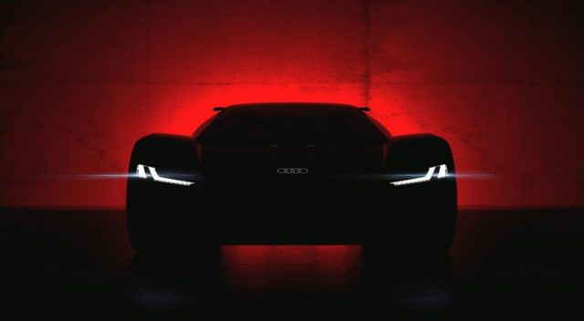 Audi PB 18 e-tron Wird am 23. August 2018 in Pebble Beach enthüllt – das Showcar Audi PB 18 e-tron © Audi AG