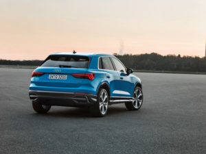 Audi Q3 (2018) Heckansicht © Audi AG