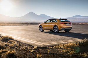 Audi Q8 2018 Heckansicht © Audi AG