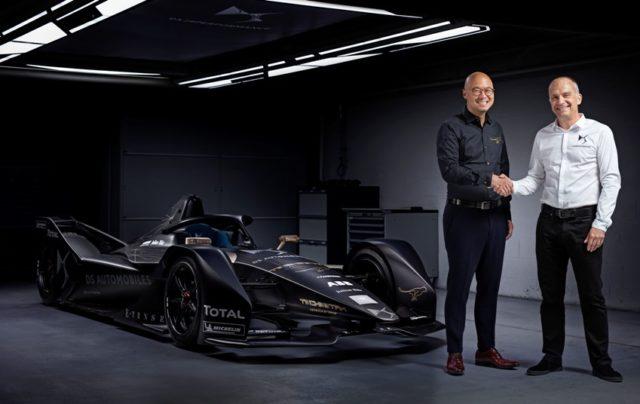 Formel E 18/19 DS Automobiles und Techeetah gehen strategische Partnerschaft ein © DS Automobiles