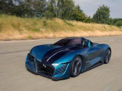 DS X E-TENSE Concept Car © DS Automoblle