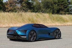 DS X E-TENSE , Testfahrten, Concept Car © DS Automobiles
