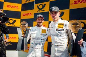 DTM, 2018, Zandvoort. Mercedes-AMG Motorsport DTM Team, DTM, Gary Paffett, Mercedes-AMG C 63 DTM Paul Di Resta © Mercedes AMG Motorsport
