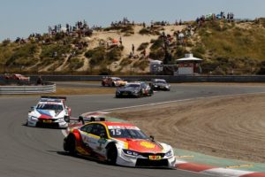 DTM Zandvoort Augusto Farfus (BRA) Shell BMW M4 DTM and Marco Wittmann (GER) BMW Driving Experience &cop; BMW Motorsport