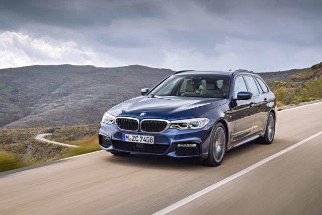 Der neue BMW 5er Touring © BMW AG