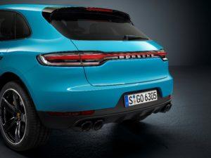Der neue Macan Heckansicht © Porsche