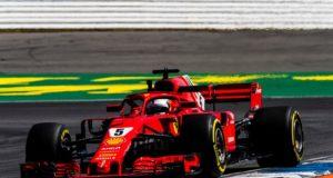 Formel 1 Sebastian Vettel GP von Deutschland © Scuderia Ferrari