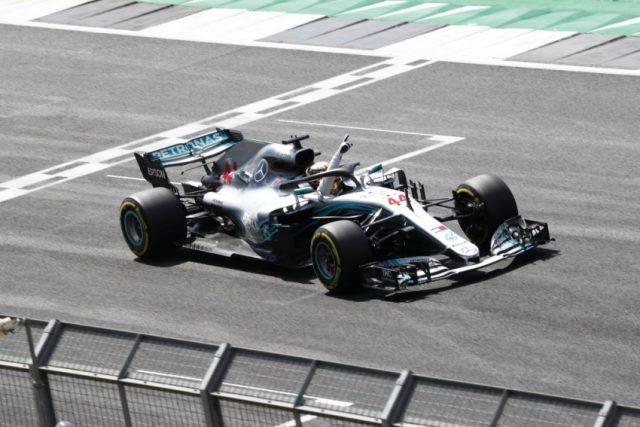 Formel 1 GP Grossbritannien 2018 Lewis Hamilton © Mercedes-AMG Petronas Motorsport