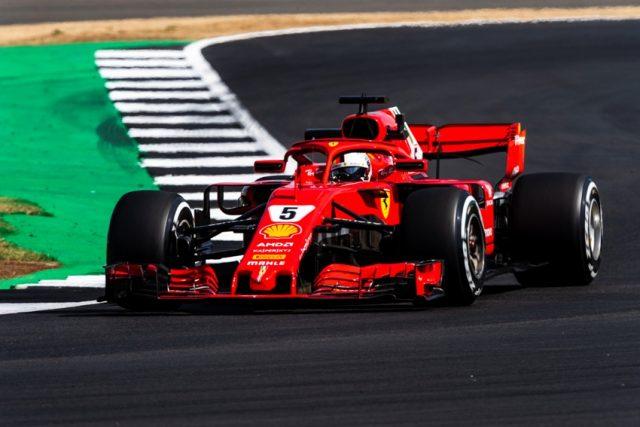 Formel 1 GP Grossbritannien Sebastian Vettel Ferrari. © Scuderia Ferrari