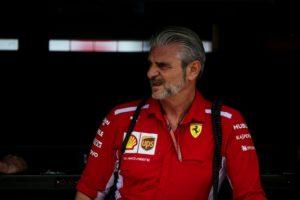 Formel 1 Maurizio Arrivabene GP von Deutschland © Scuderia Ferrari