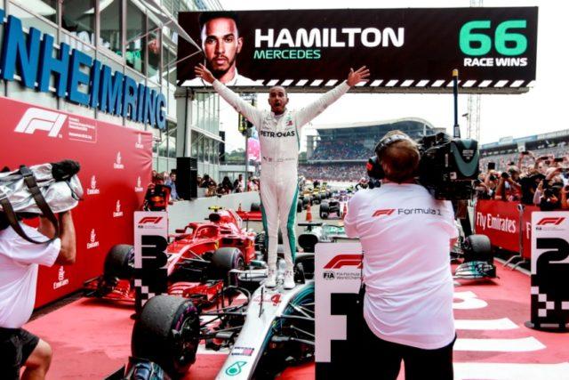 Formel 1 - Mercedes-AMG Petronas Motorsport, GP von Deutschland 2018. Lewis Hamilton © Mercedes-AMG Petronas Motorsport