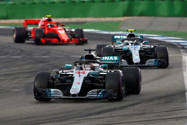 Formel 1 - Mercedes-AMG Petronas Motorsport, GP von Deutschland 2018. Lewis Hamilton, Valtteri Bottas © Mercedes-AMG Petronas Motorsport