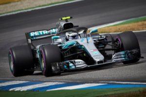 Formel 1 - Mercedes-AMG Petronas Motorsport, Großer Preis von Deutschland 2018. Valtteri Bottas © Mercedes AMG Petronas Motorsport