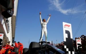 Formel 1 - Mercedes-AMG Petronas Motorsport, Großer Preis von Ungarn 18. Lewis Hamilton © Mercedes AMG Petronas Motorsport