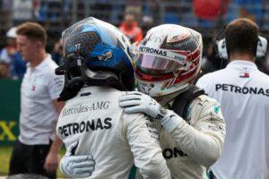 Formel 1 - Mercedes-AMG Petronas Motorsport, Großer Preis von Ungarn 2018. Lewis Hamilton, Valtteri Bottas © Mercedes-AMG Petronas Motorsport