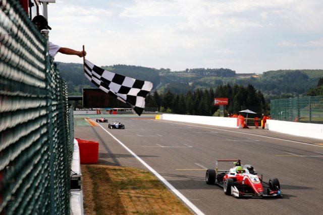 Formel 3 EM Spa Mick Schumacher © F3 EM