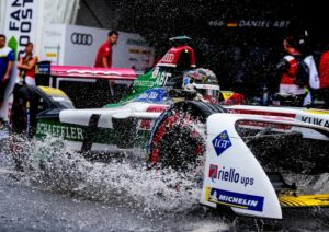 Formel E New York Audi e-tron FE04 #66 (Audi Sport ABT Schaeffler), Daniel Abt © Audi Communications Motorsport / Michael Kunkel