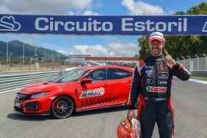 HONDA CIVIC TYPE R Estoril Tiago Monteiro © Honda