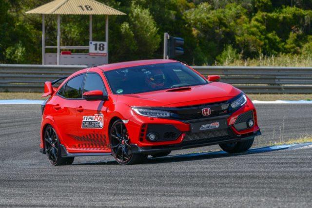 HONDA CIVIC TYPE R auf der Rennstrecke von Estoril © Honda