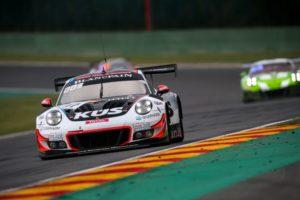 24 Stunden von Spa KÜS Team75 Bernhard, Porsche 911 GT3 R (117), Timo Bernhard (D), Earl Bamber (NZ), Laurens Vanthoor (B), Spa-Francorchamps 2018 &cop; Porsche Motorsport