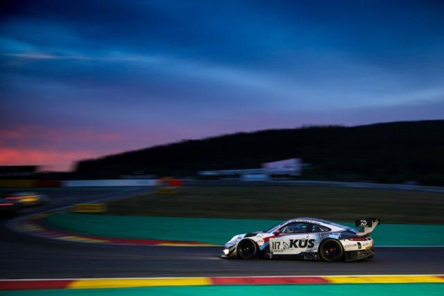 KÜS Team75 Bernhard, Porsche 911 GT3 R (117), Timo Bernhard (D), Earl Bamber (NZ), Laurens Vanthoor (B), Spa-Francorchamps © Porsche Motorsport