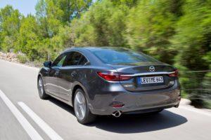 Mazda6 Facelift 2018 Heckansicht © Mazda